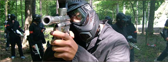 Paintballing 0